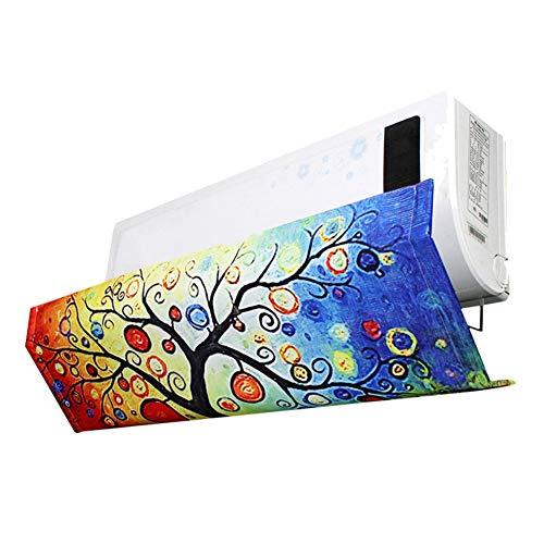 Liamostee Klimaanlage Windschutz Einstellbarer Winkel f¨¹r Schlafzimmer-Wandklimaanlage