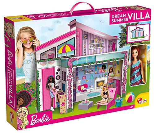 Lisciani Giochi - 76932 Gioco per Bambini Barbie Casa di Malibù con Doll