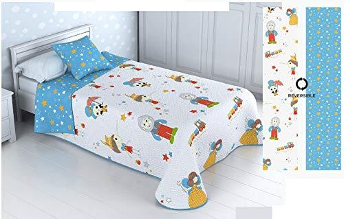 Colchas De Verano 90 Infantil Marca Energy Colors Textil-Hogar