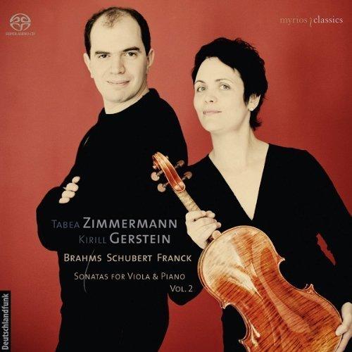 Sonatas for Viola & Piano Vol. 2 by Tabea Zimmermann