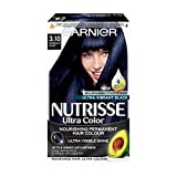 Garnier Nutrisse Permanent Hair Dye, 3.10 Midnight Blue