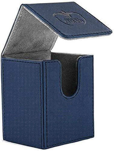 100 voitured Flip Xenoskin Deck Case, bleu by Ultimate Guard