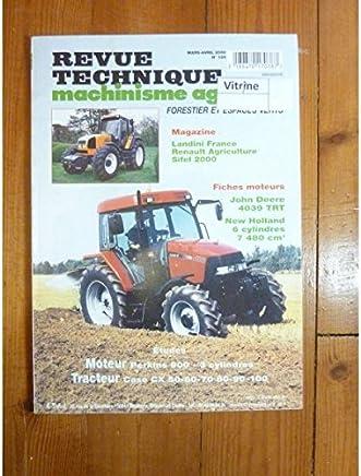 Cooperative Rtma 130 Ts 80 90 100 110 Revue Technique Tracteur Agricole New Holland Équipements Professionnels Agriculture