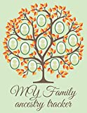 My Family Ancestry Tracker: Genealogy Workbook to Track Your Heritage and Ancestor Information