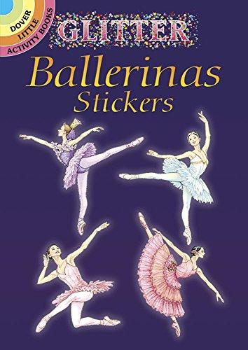 Price comparison product image Glitter Ballerinas Stickers (Dover Little Activity Books Stickers)