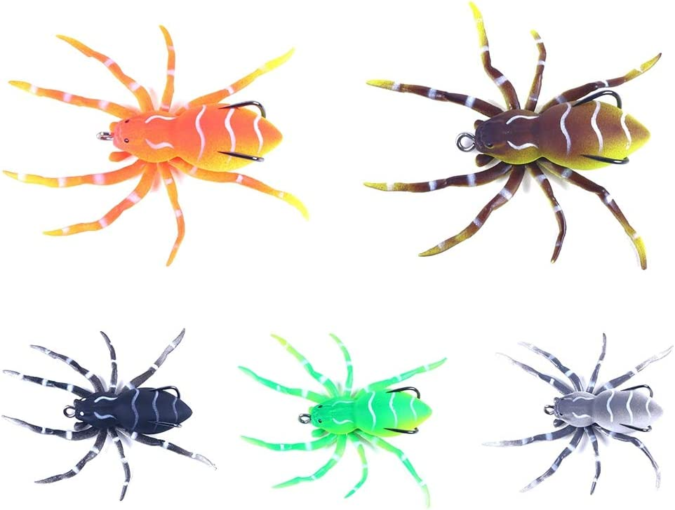 At the price of surprise SUHAPPY Spider Max 48% OFF Fishing Lures 3.15 Lu Swimming inch Bionic