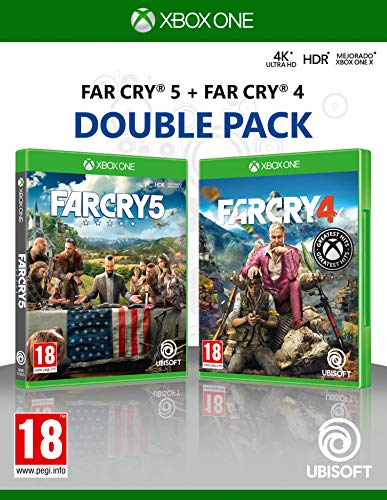 Double Pack: Far Cry 4 + Far Cry 5 - Xbox One [Edizione: Spagna]