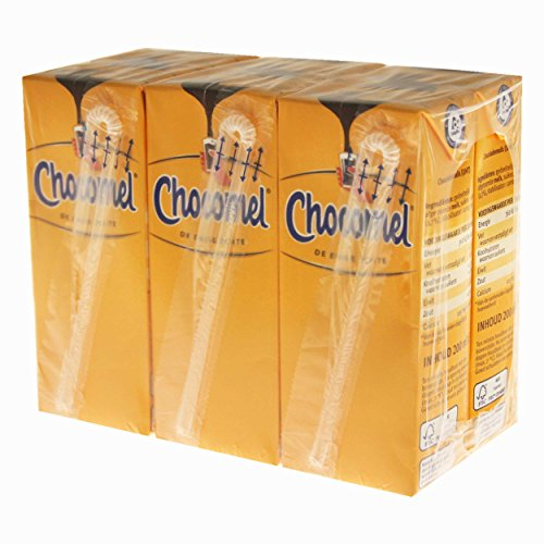 Chocomel Kakao Trinkpäckchen 30er Set, Trinkschokolade, Schokolade, Schoko Drink, Holland, á 200 ml