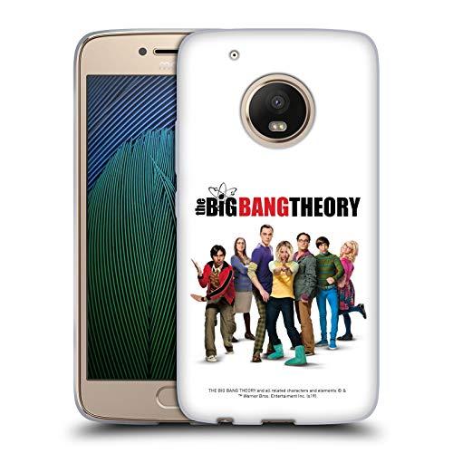 Head Case Designs Offizielle Zugelassen The Big Bang Theory Staffel 10 Schluessel Kunst Soft Gel Handyhülle/Hülle kompatibel mit Motorola Moto G5 Plus