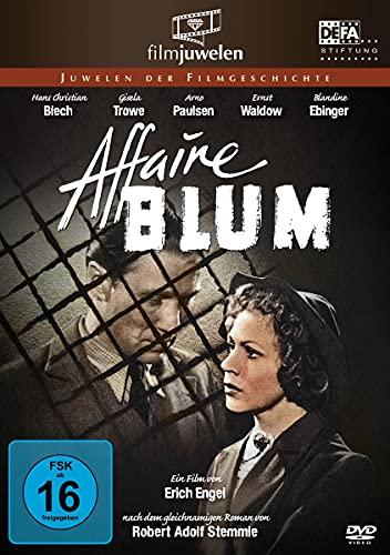 Affaire Blum (Affäre Blum) (DEFA Filmjuwelen)