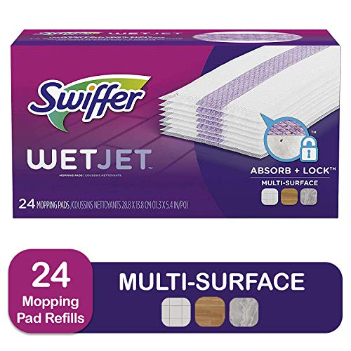 3 Swiffer Wetjet Hardwood Mop Pad Refills Now $25.91 – $8.63 Each