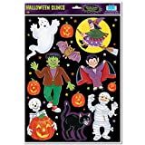 Halloween Character Clings Party Accessory (1 count) (12/Sh)