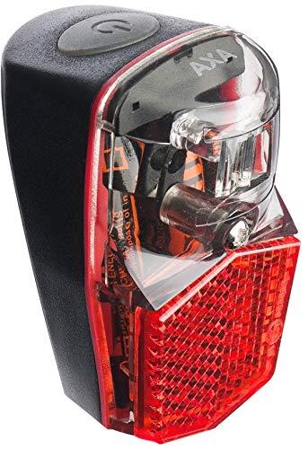 Axa Run Compact - Luz trasera para bicicleta, color rojo