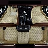 Custom Car Tapetes Ford F150 - Tipo camioneta 4 puertas impermeable antideslizante resistente a los arañazos de piel Liner Set de alfombras, pickup Ford F150 de 4 puertas -, beige, pickup Ford F150 4