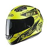Casco de moto HJC CS 15 TAREX MC4HSF, Amarillo/Negro, M