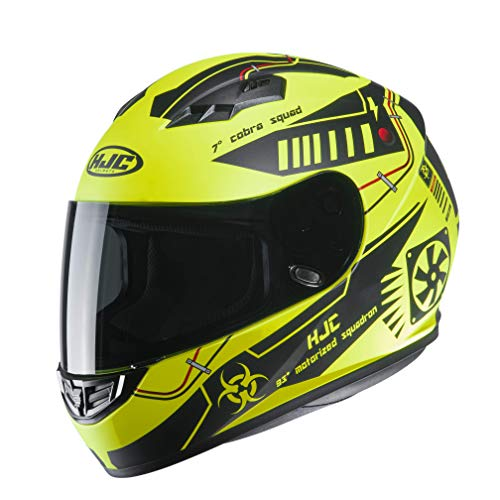 Casco moto HJC CS 15 TAREX MC4HSF, Giallo/Nero, S