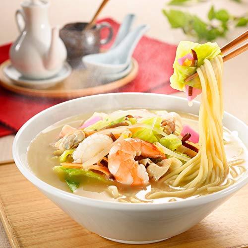長崎名物 ばってんちゃんぽん 2食×2箱 4食セット 特製具材入り 長崎名物 ご当地ラーメン 白雪食品