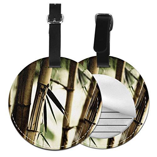 Etiquetas para Equipaje Bolso ID Tag Viaje Bolso De La Maleta Identifier Las Etiquetas Maletas Viaje Luggage ID Tag para Maletas Equipaje Bambú 25