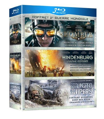 Coffret 2e Guerre Mondiale : The Bomber + Hindenburg - L'ultime odyssée + Stalingrad Snipers [Francia] [Blu-ray]