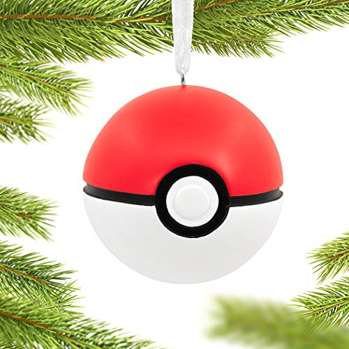 Pokemon Poke Ball Christmas Ornament