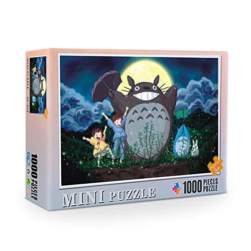 ZXHMZ Baustein Puzzle Lernspielzeug 1000 Stück Erwachsene-19_Fertigprodukt 38 * 26cm
