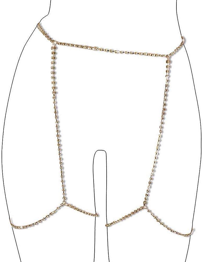MineSign Diamond Sexy Belly Chain Retro Waist Belt Chains Summer Beach Bikini Swimsuit Body Jewelry