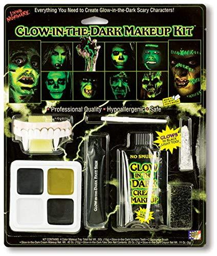 Horror-Shop Glow in The Dark Make Up Set
