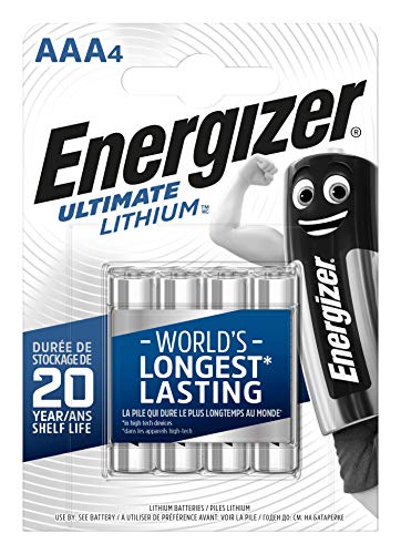 Energizer Batterien AAA, Ultimate Lithium, 4 Stück
