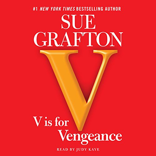 V Is for Vengeance audiobook cover art