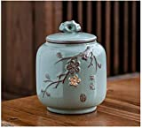 LSYFCL urna catalunyaMini urnas de cremación Urnas funerarias para Mascotas para Adultos, Grandes urnas conmemorativas, Recuerdo de cerámica Hecho a Mano