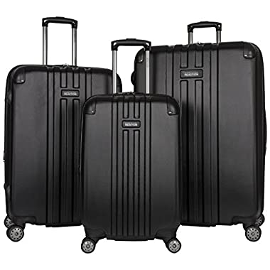 Kenneth Cole Reaction Reverb 3-Piece Luggage Set, Black
