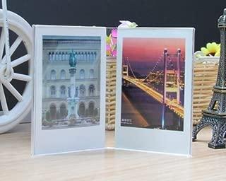 Helloween Simple Photo Frame for Fujifilm Instax Polaroid Mini Films Mini 8 Camera Film, Mini 7s Camera Film (V Frame(5 pcs))