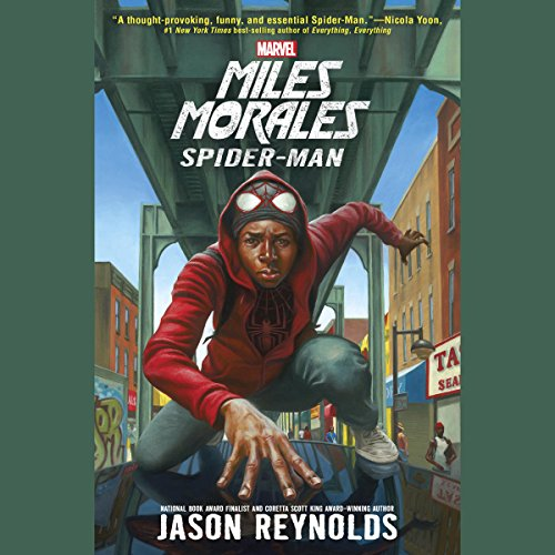 Miles Morales: Spider-Man audiobook cover art