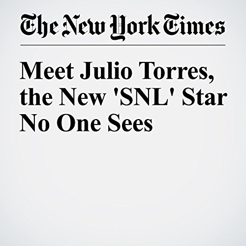 Meet Julio Torres, the New 'SNL' Star No One Sees audiobook cover art