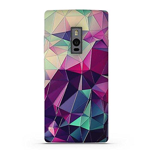 FUBAODA für OnePlus Two Hülle, 3D Erleichterung Fantasie Muster TPU Case Schutzhülle Silikon Case für OnePlus Two (1+2)