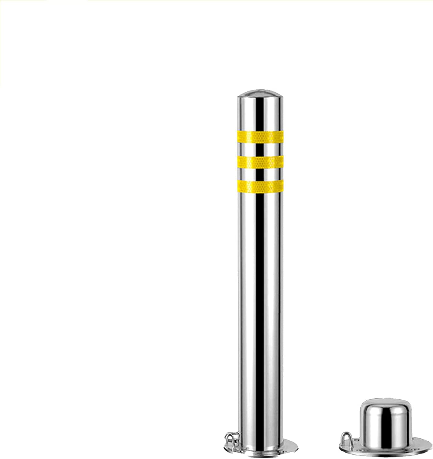 Parking New excellence mail order Column Thickened Anti-Collision Lock Stainless