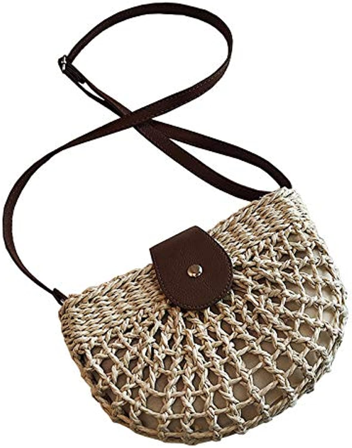 Crossbody Bag Straw Bag Shoulder Bag(B;)