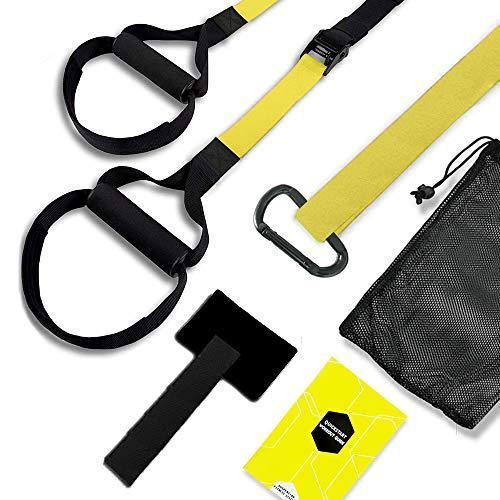 Suspension Trainer,Sling Trainer pour La Musculation,Musculation Multifonction Kit,d'Exercice de...