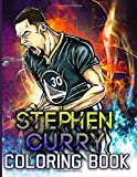 Stephen Curry Coloring Book: Anxiety Stephen Curry Coloring Books For Adults And Kids Unofficial
