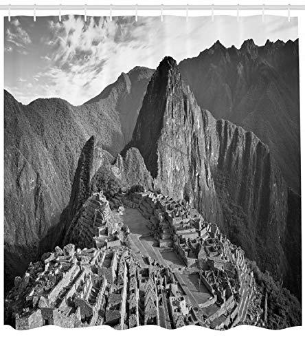 FANG2018 Vista del Paisaje de la Cortina de baño Paisaje de Perú Impreso