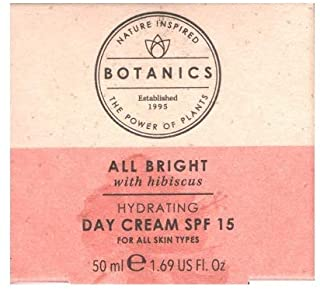 BOOTS Botanics All Bright Hydrating Day Cream SPF15 by