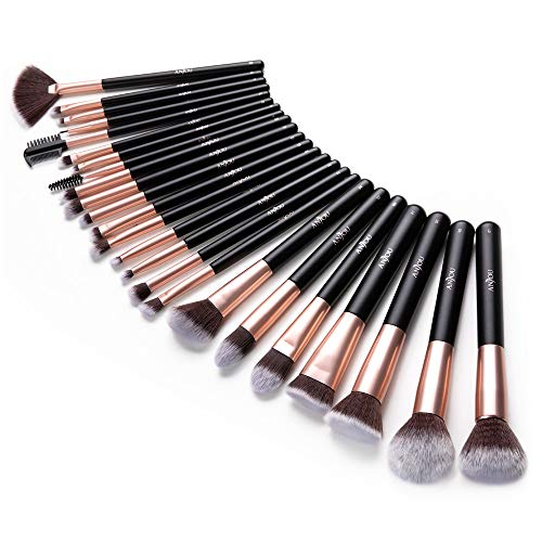 Anjou Makeup Brush Set, 24pcs Pr...