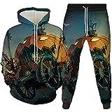 Herren Zweiteiler Sportswear Anzug 3D Druck Hoodie...