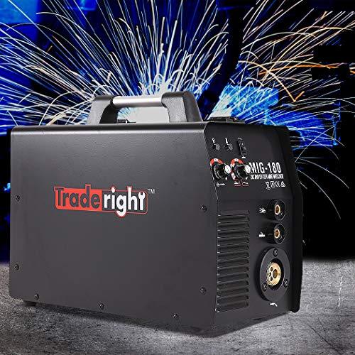 MIG Welder 180Amp MIG MMA 2 In 1 ARC Welding Machine Gas/Gasless Portable