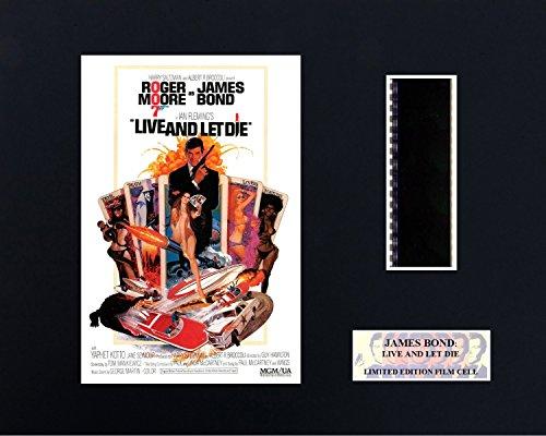 James Bond, Vivi e lascia morire ', 8 x 10 Film Cell