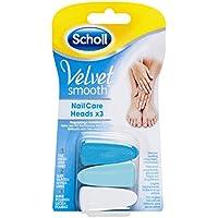 Cuidado de uñas Scholl Velvet Smooth, sistema de repuestos.