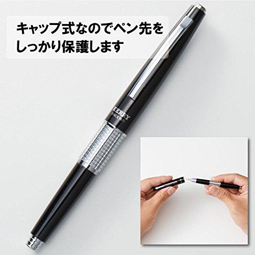 ぺんてるシャープペン万年CIL(ケリー)キャップ式P1035-AD黒