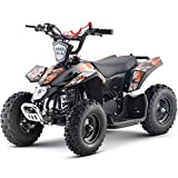 Superrio Kids ATV Sahara 40cc Gas Powered Kids ATV Kids 4 Wheelers Kids Quads, Speed Limiter and Kill Switch (Green)