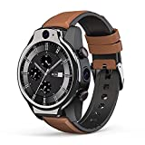 XYJ LEM14 Smart Watch, 4G Global IP68 50M Pulsera Inteligente Impermeable, 1.6'Pantalla Redonda Completa 4G + 64G 8MP + 5MP Cámara Dual 1100mAh Android 10 SmartWatch Teléfono, Múltiples Modos deporti