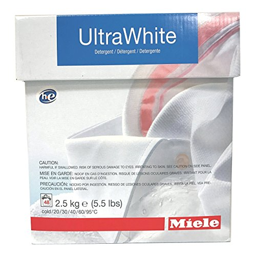 Miele CareCollection UltraWhite Multi-purpose powder 2.5KG (5.5 LBS) 48 Loads